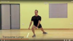 Transverse Lunge Video